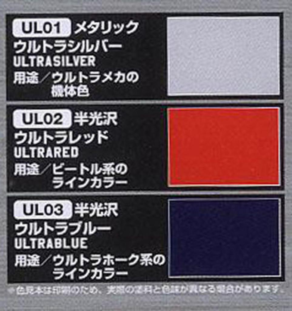 GSI Creos Mr.Hobby CS451 Mr. Ultramechanic Color Set