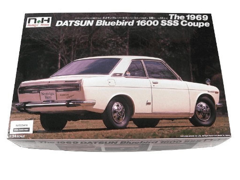 Doyusha NH25 Datsun Blue Bird 1600SSS Coupe 1/24 Scale Kit