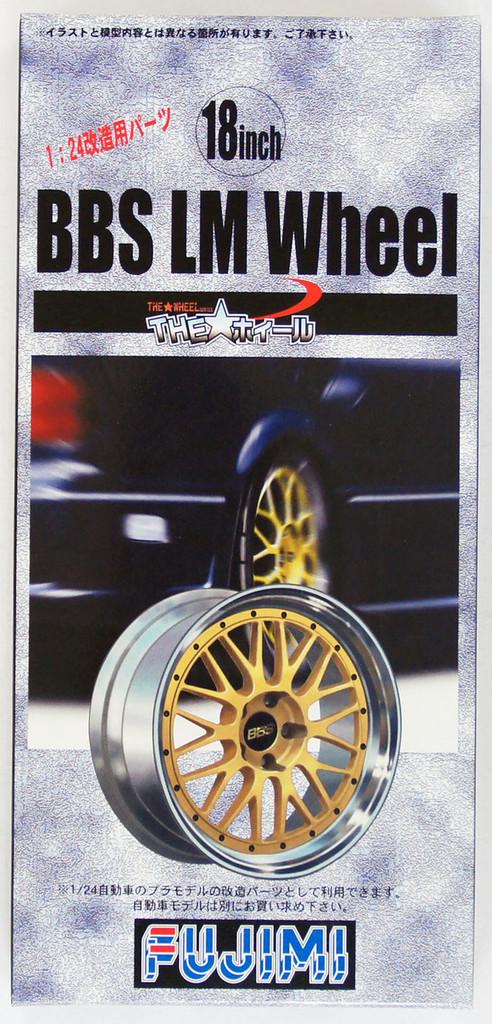 Fujimi TW04 BBS LM Wheel & Tire Set 18 inch 1/24 Scale Kit