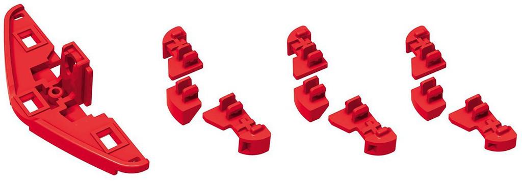 Bandai GEKI DRIVE CP-012-RD Rear Bumper Set 01 Stabilizer Red Version 4549660094418