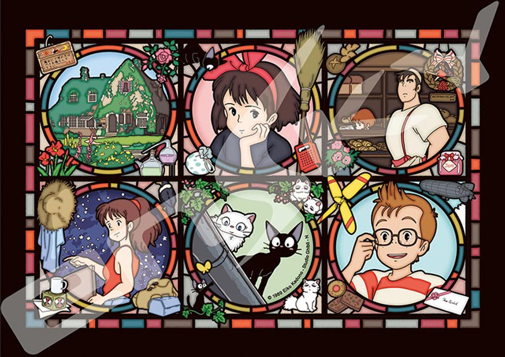 Ensky Art Crystal Jigsaw Puzzle 208-AC38 Kikis Delivery Ghibli (208 Pieces)