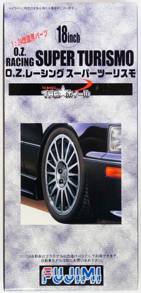 Fujimi TW41 O.Z.Racing Super Turismo Wheel & Tire Set 18 inch 1/24 Scale Kit
