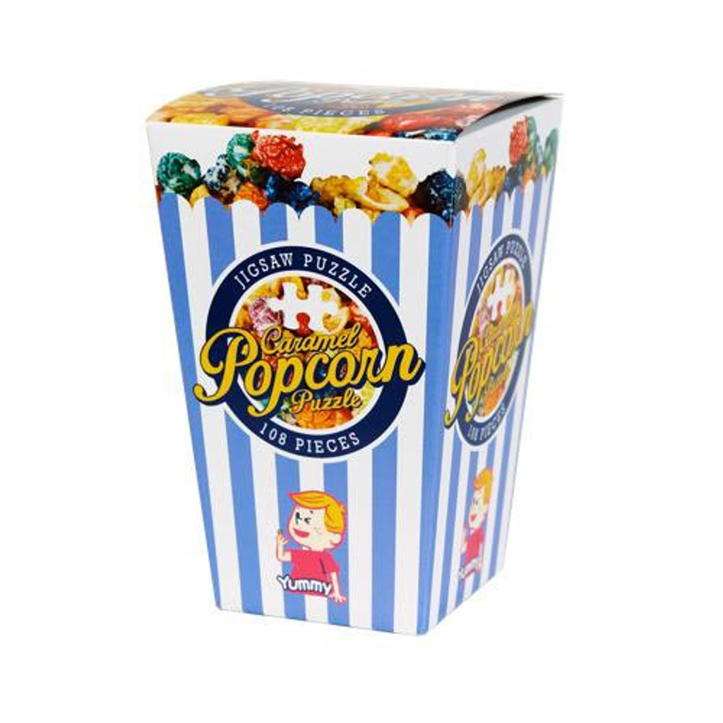 Beverly Jigsaw Puzzle M108-198 Candy Collection Caramel Popcorn (108 S-Pieces)