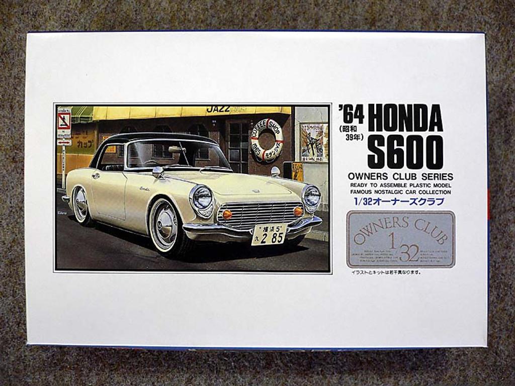 Arii Owners Club 1/32 03 1964 Honda S600 1/32 Scale Kit (Microace)