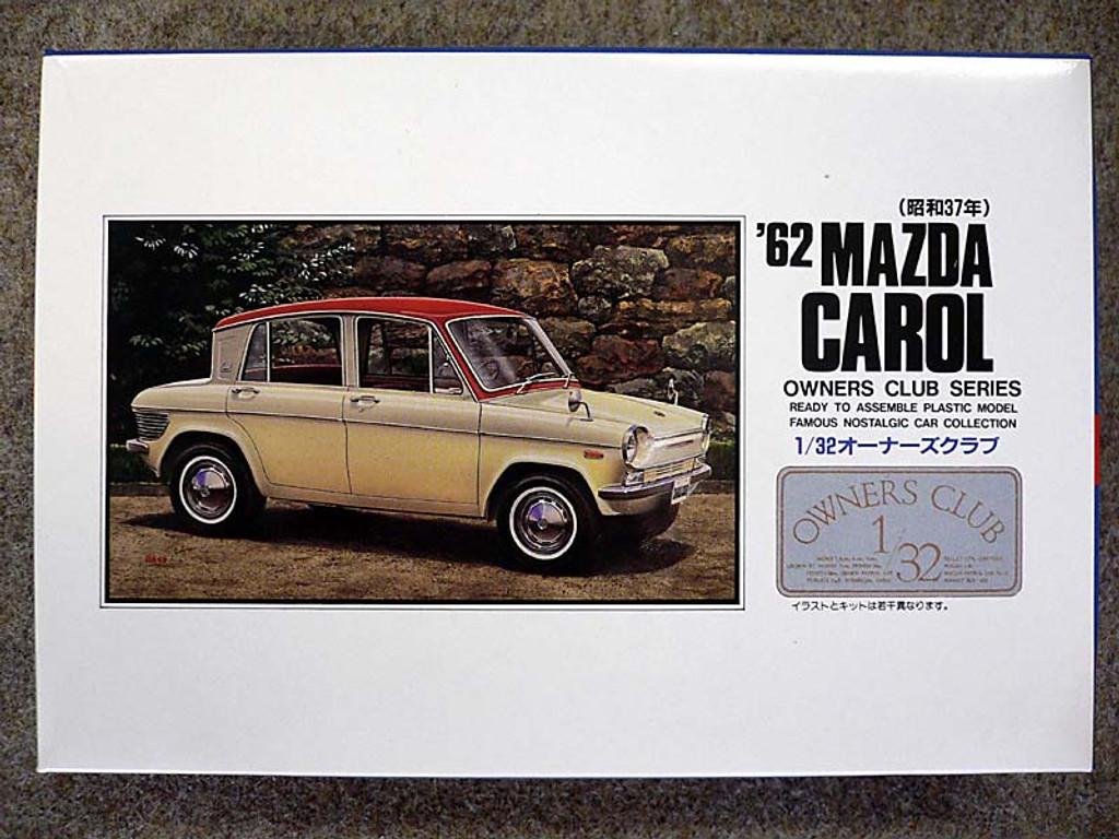 Arii Owners Club 1/32 08 1962 Mazda Carol 1/32 Scale Kit (Microace)