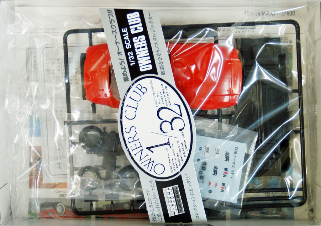 Arii Owners Club 1/32 12 1965 Toyota S800 1/32 Scale Kit (Microace)