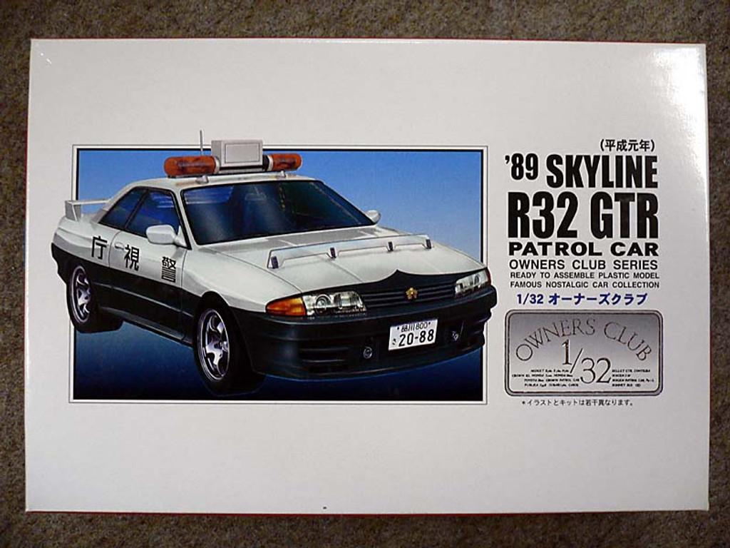 Arii Owners Club 1/32 57 1989 Skyline R32 GT-R 1/32 Scale Kit (Microace)