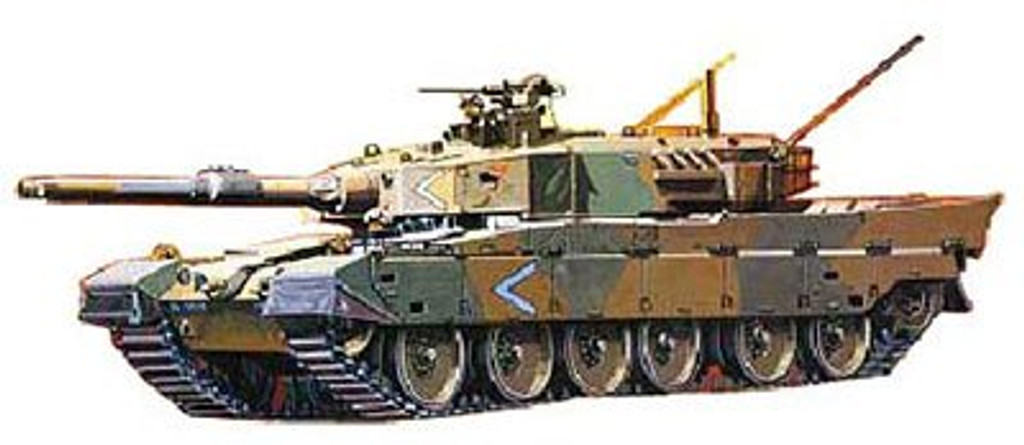 Fujimi SWA03 Special World Armor JGSDF Type 90 Tank 1/76 Scale Kit 762296