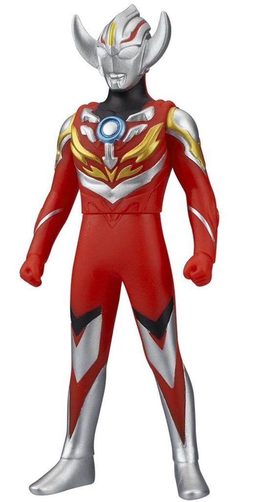 "Bandai Ultra Hero Orb 02 Ultraman Orb (Burnmite) 5.5"" Figure"