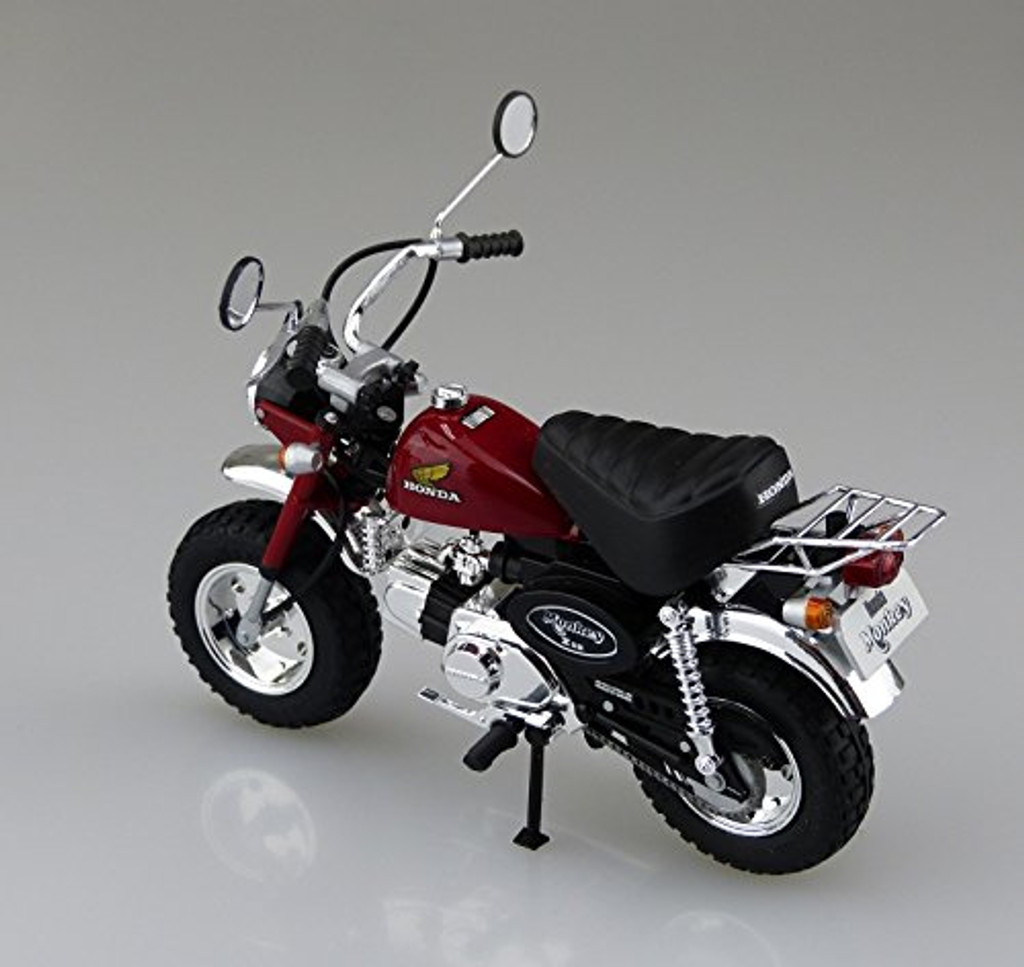 Aoshima Naked Bike 24 Honda MONKEY Custom Takegawa Version2 1/12 Scale Kit