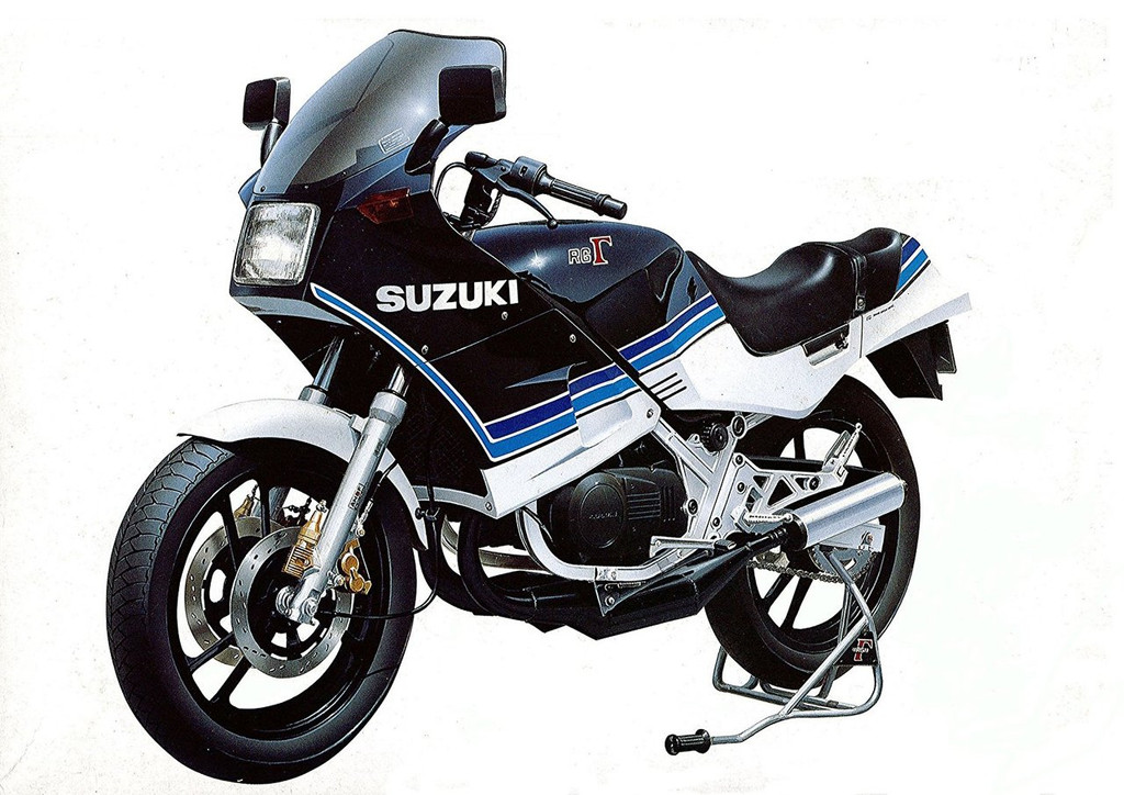 Aoshima Naked Bike 73 Suzuki RG250y 1/12 scale kit