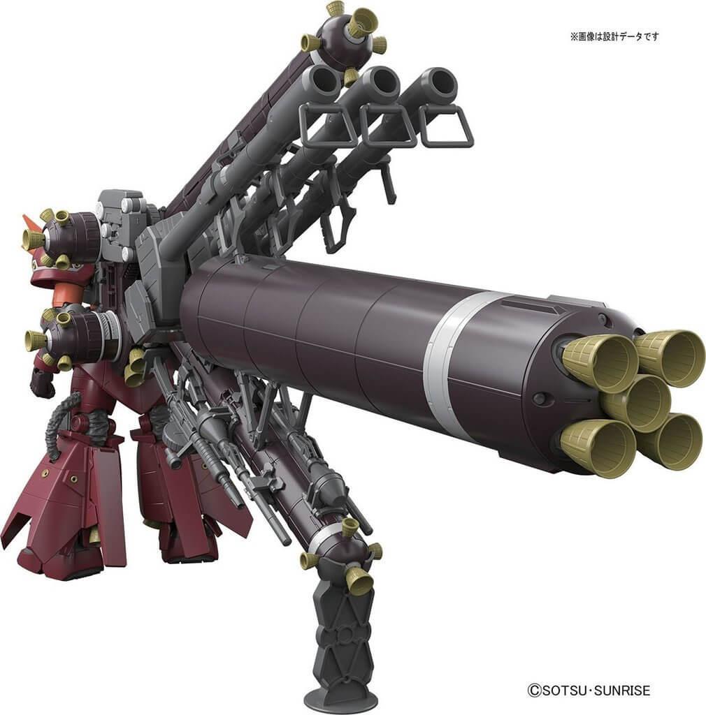 Bandai MG 094319 Gundam MS-06R ZAKU II High Mobility Psycho ZAKU  (Gundam Thunderbolt Version) 1/100 Scale Kit