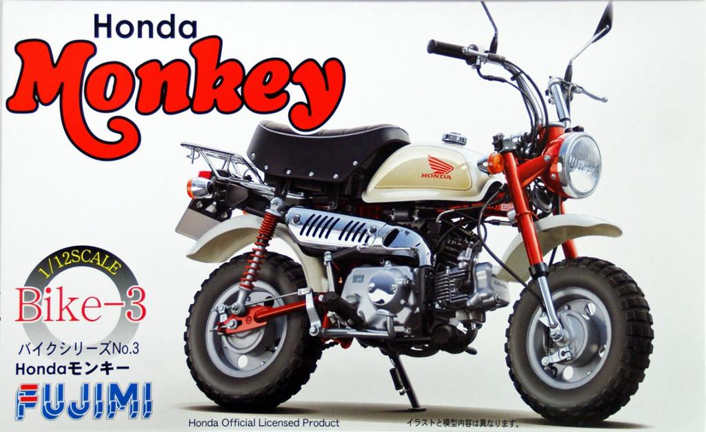Fujimi Bike-03 Honda Monkey 1/12 Scale Kit