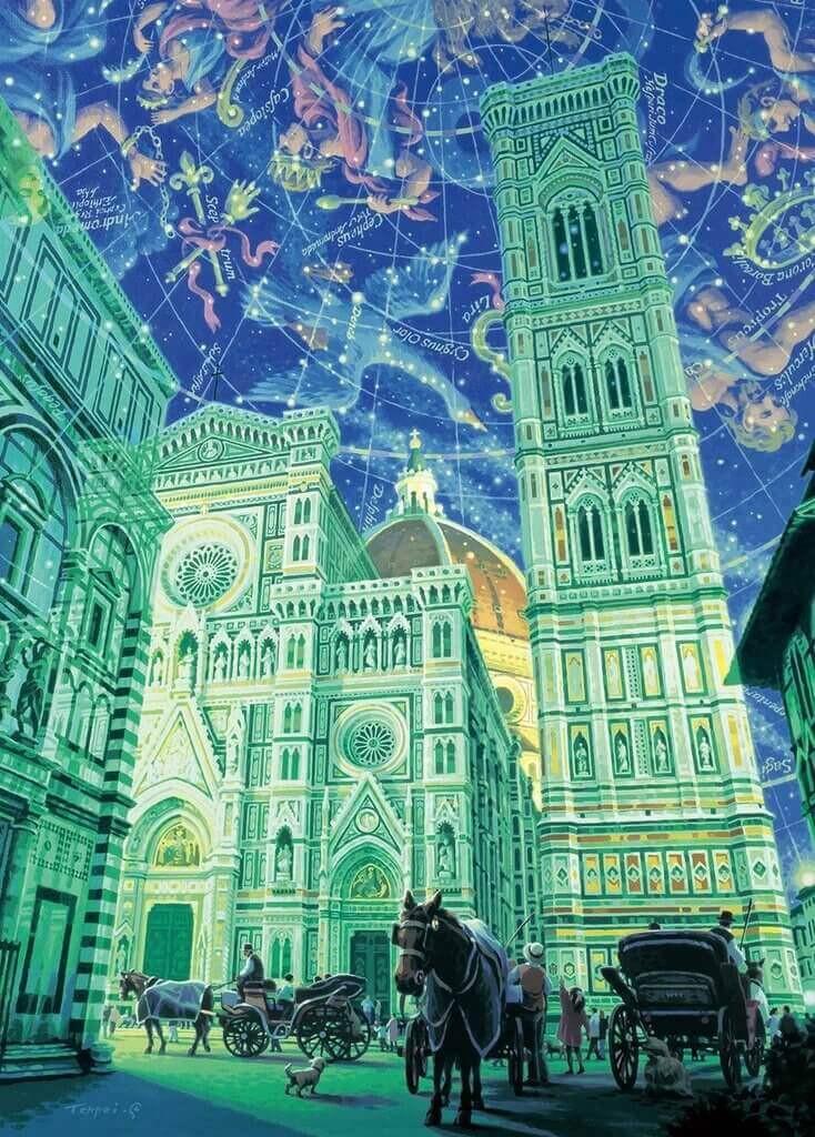 Epoch Jigsaw Puzzle 54-703 Teppei Sasakura Star Atlas (2000 S-Pieces)