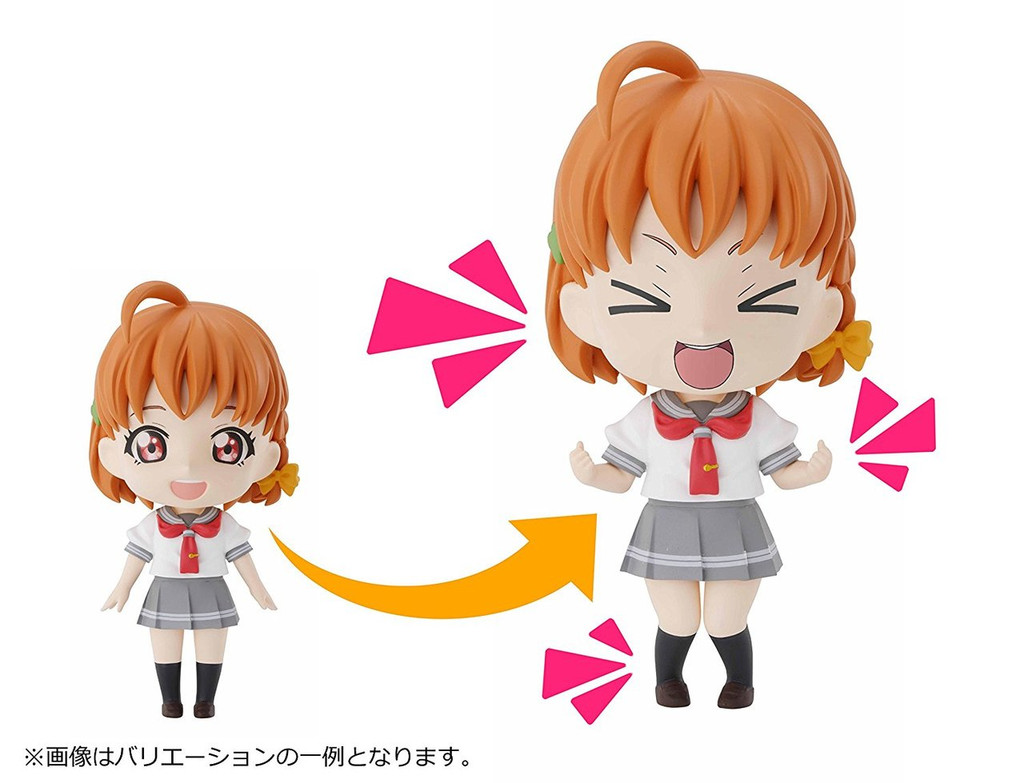 Bandai Petiture-Rise 001 LoveLive! Sunshine!! Chika, Riko and You Plastic Model Kit 144915