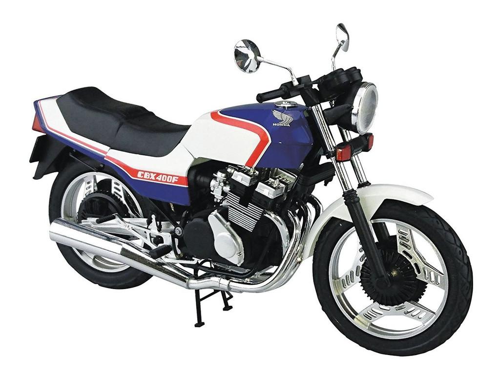 Aoshima Naked Bike 31 52976 Honda CBX400F Tricolor 1/12 scale kit