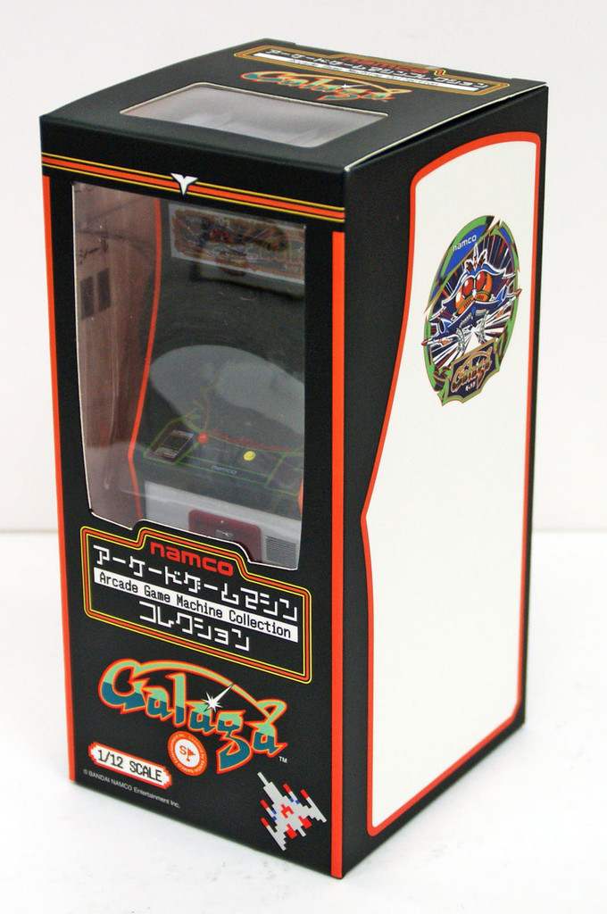 FREEing Namco Arcade Game Machine Collection Galaga 1/12 Scale Figure