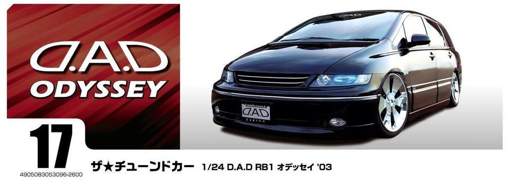 Aoshima 53096 D.A.D RB1 Odyssey '03 (HONDA) 1/24 scale kit