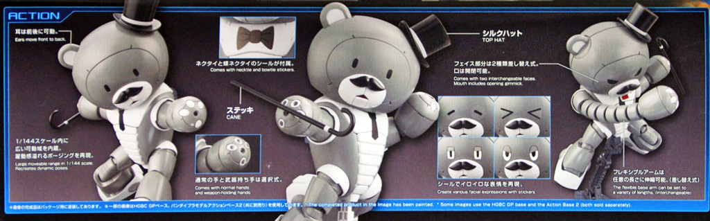 Bandai HG Build Fighters 052 PAPAGGUY 1/144 scale kit
