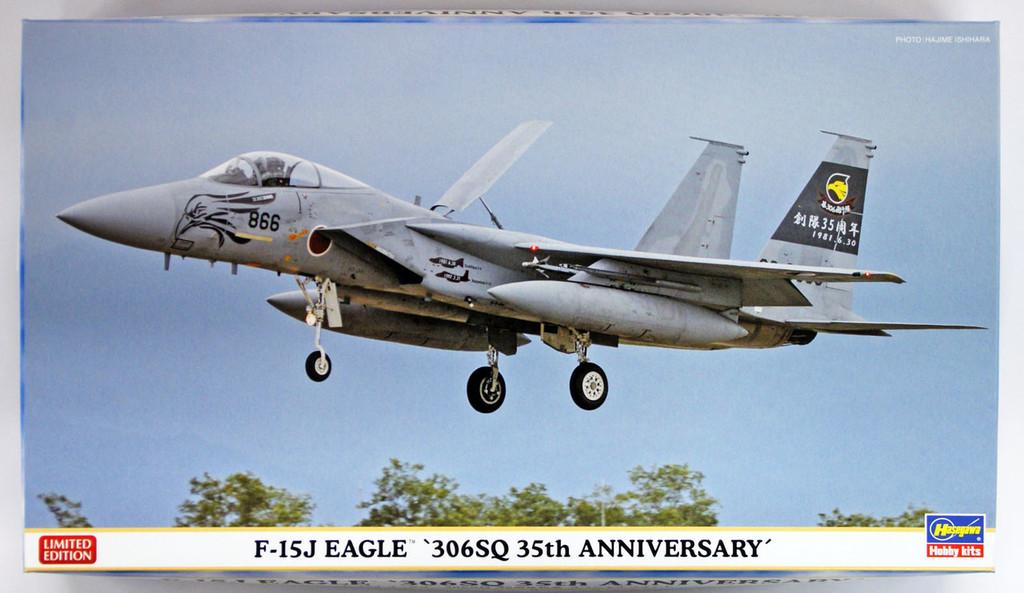 """Hasegawa 02226 F-15J Eagle """"306SQ 35th Anniversary"""" 1/72 scale kit"""