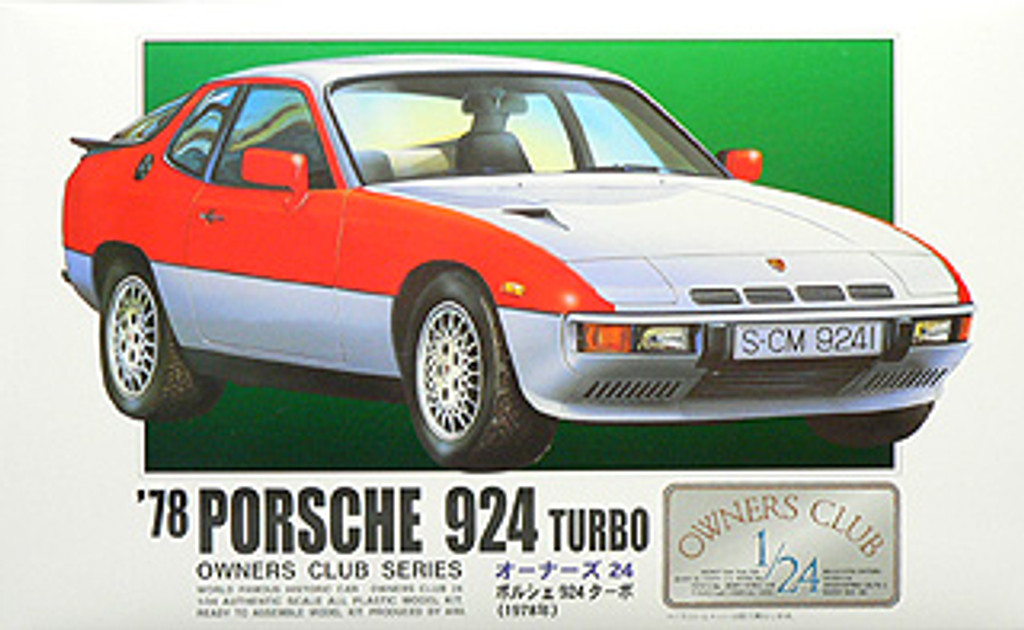 Arii Owners Club 1/24 24 1978 Porsche 924 Turbo 1/24 Scale Kit (Microace)