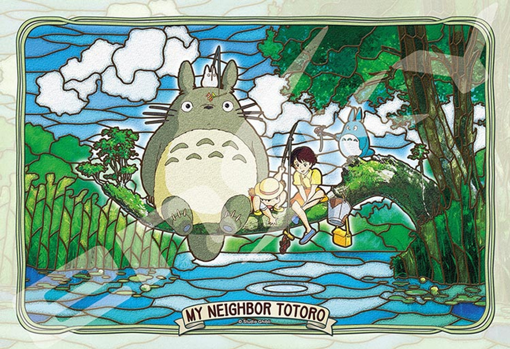 Ensky Art Crystal Jigsaw Puzzle 300-AC34 My Neighbor Totoro Studio Ghibli (300 Pieces)