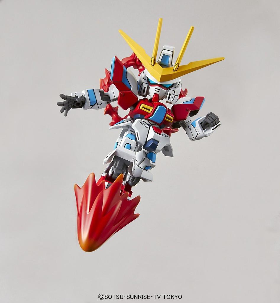 Bandai SD Gundam Ex-Standard 090663 TBG-011D TRY BURNING GUNDAM Non Scale Kit