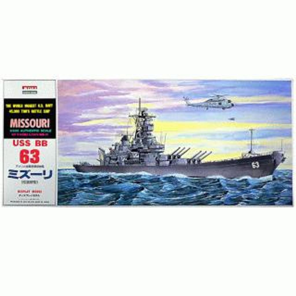 Arii-13 618134 USS BattleShip Missouri BB-63 1/600 Scale Kit (Microace)