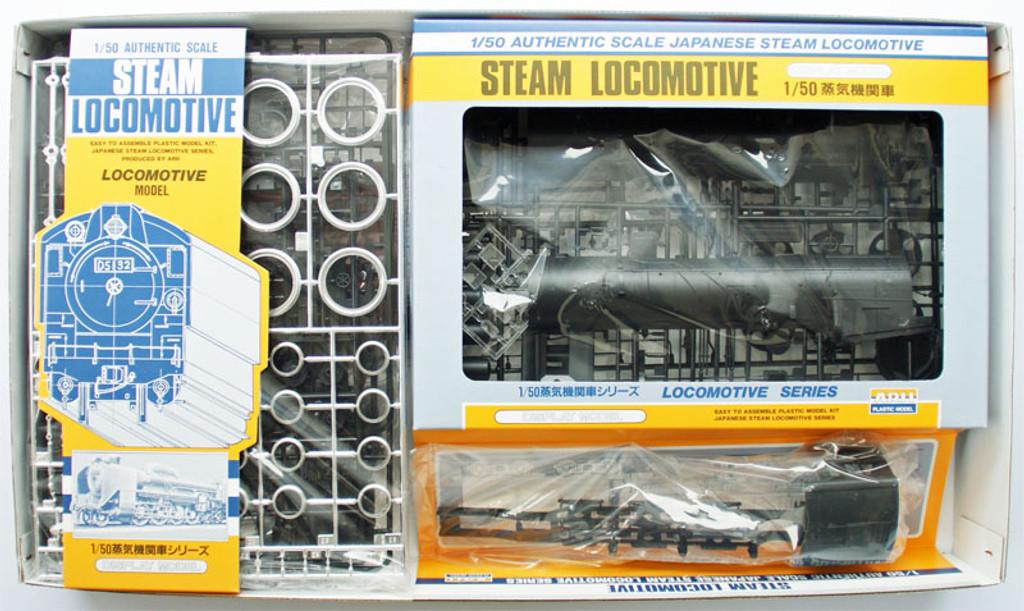 Arii 356029 Japanese Steam Locomotive Type C62 1/50 Scale Kit (Microace)
