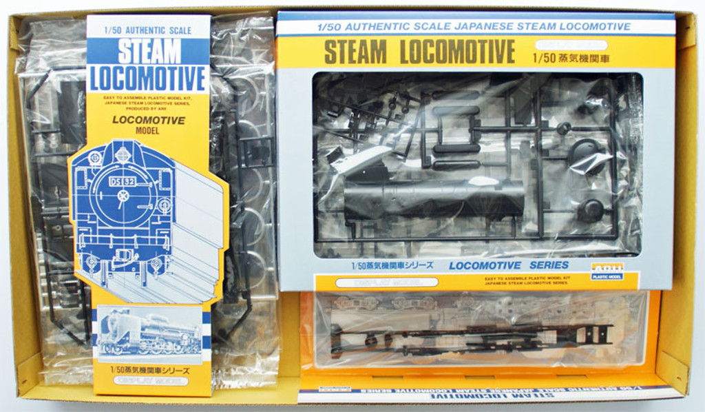 Arii 456026 Japanese Steam Locomotive Type C11 1/50 Scale Kit (Microace)