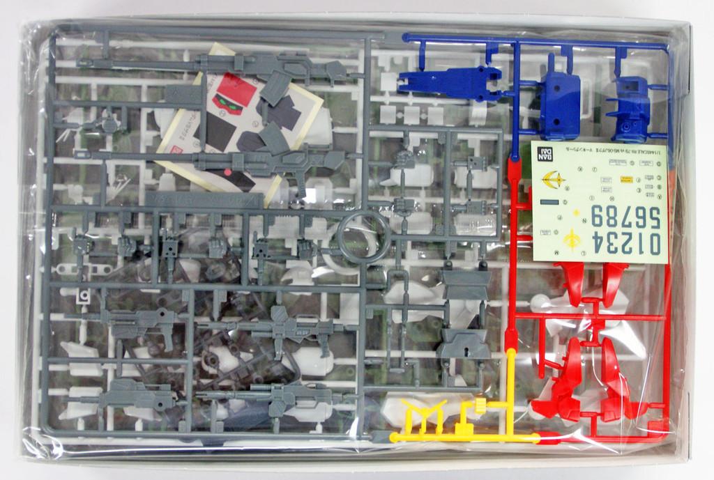 Bandai OVA GUNDAM Series RX-79 GUNDAM VS MS-06J ZAKU II 1/144 scale kit 526720