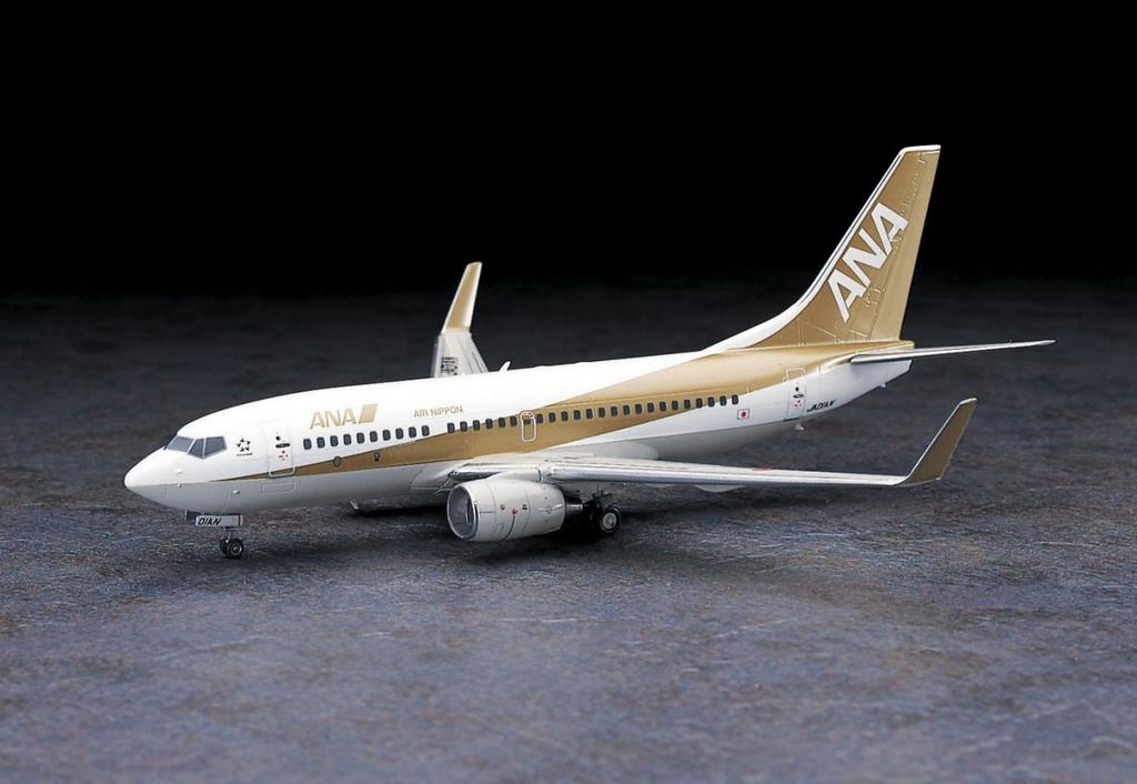 Hasegawa 35 ANA All Nippon Airways Boeing 737-700 1/200 Scale Kit