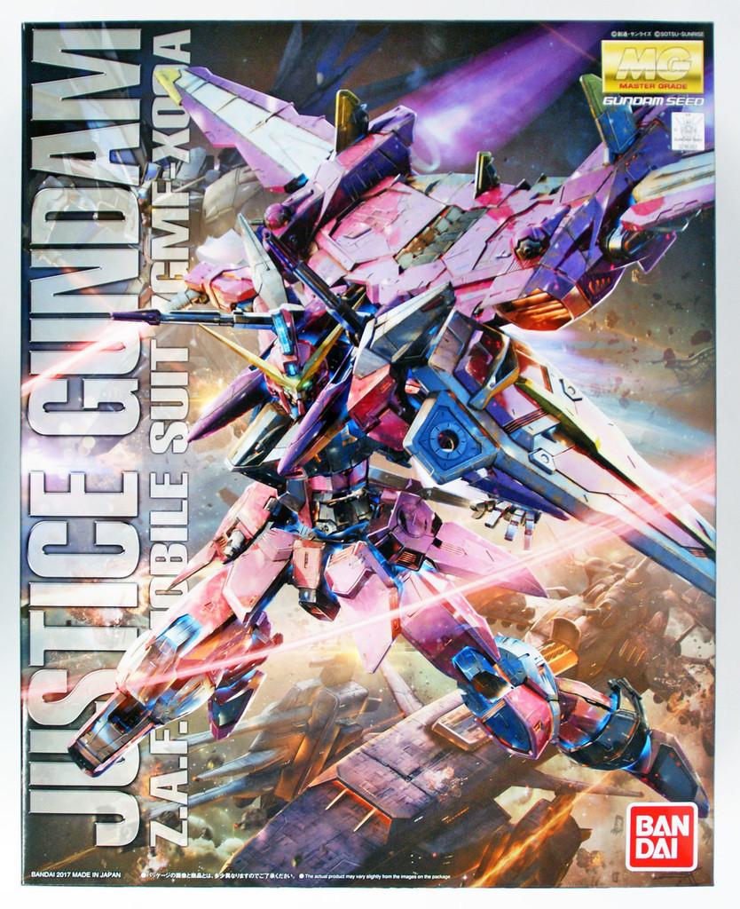 Bandai MG 163824 JUSTICE GUNDAM (Gundam Seed) 1/100 scale kit