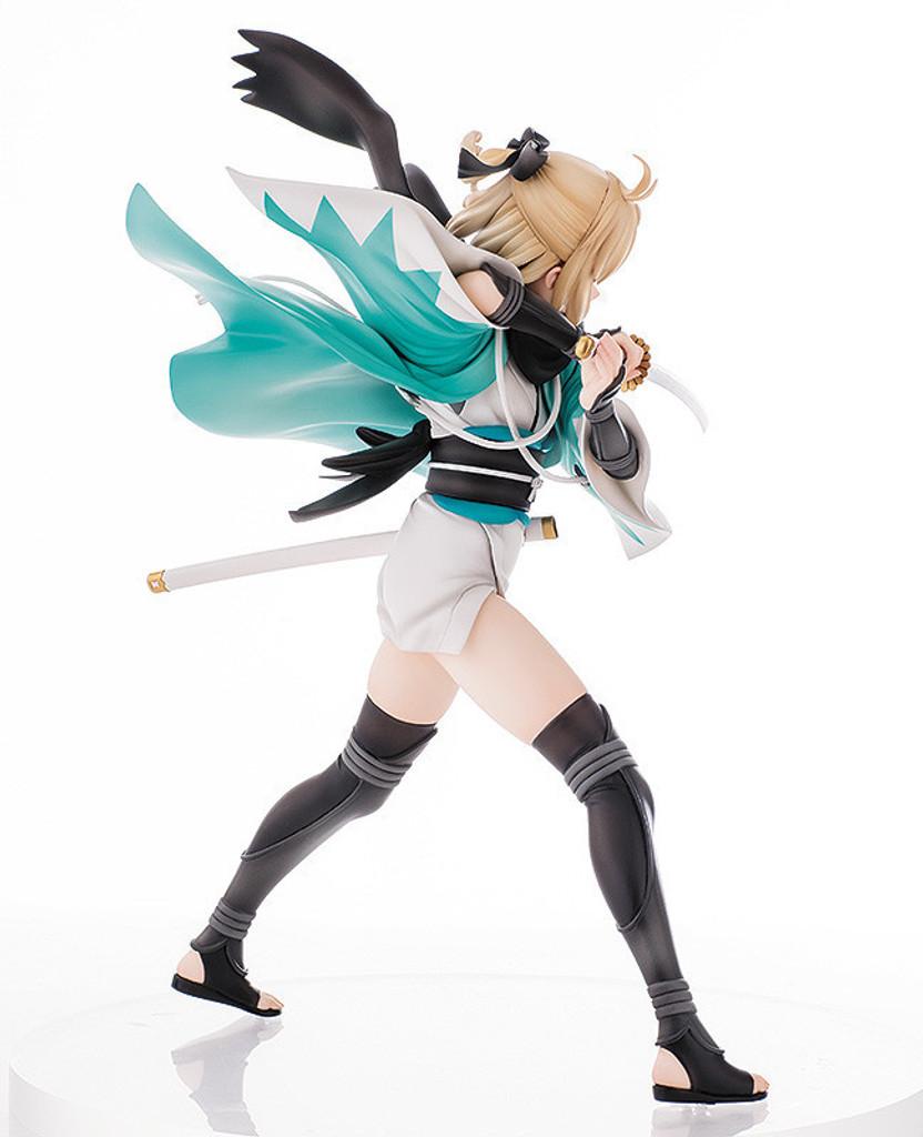 Aquamarine Fate/Grand Order Saber Souji Okita 1/7 Scale Action Figure (2nd Release)