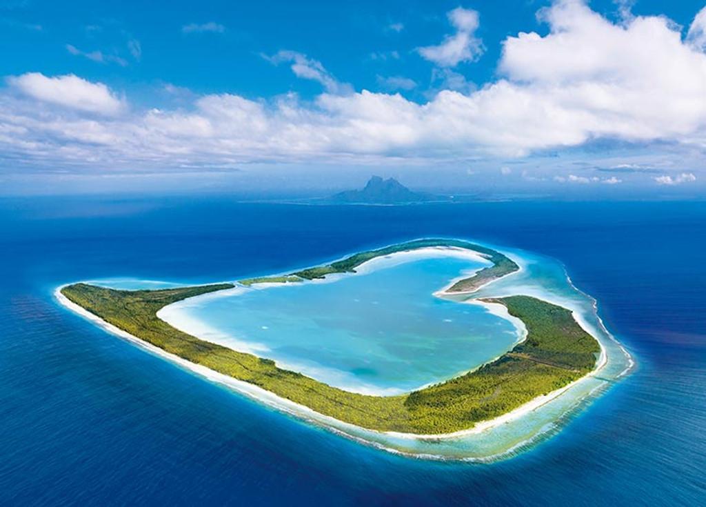 Epoch Jigsaw Puzzle 05-104 Open Heart Island Tupai French Polynesia (500 Pieces)