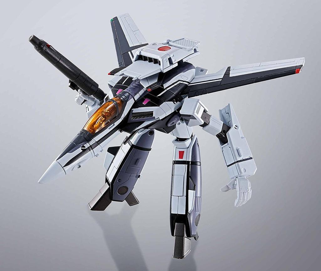 Bandai 161646 HI-Metal R Fortress Macross VF-1S Valkyrie Diecast Figure (35th Anniversary Messer Color)