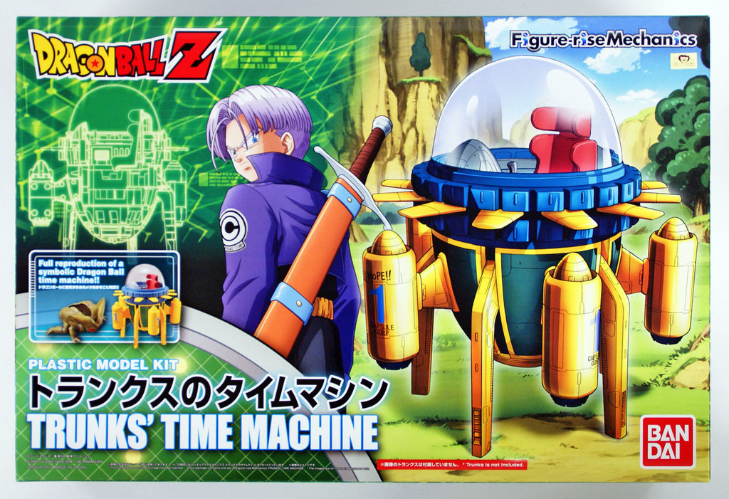 Bandai Figure-Rise Mechanics 163954 Dragon Ball Z Trunks Capsule Corp Time Machine Plastic Model Kit