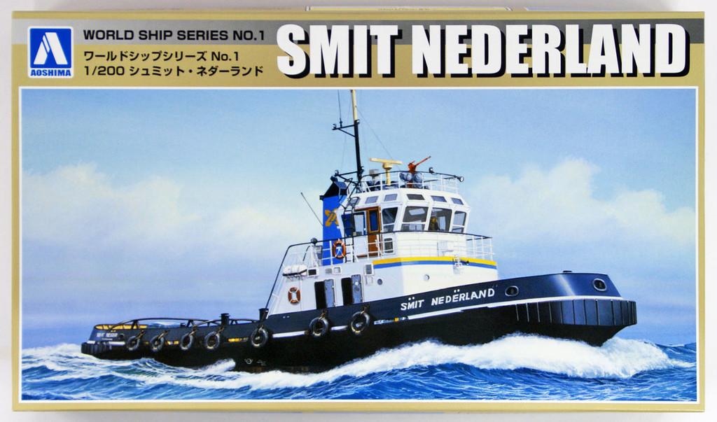 Aoshima 53430 World Ship 1 Tag Boat Smit Nederland 1/200 scale kit