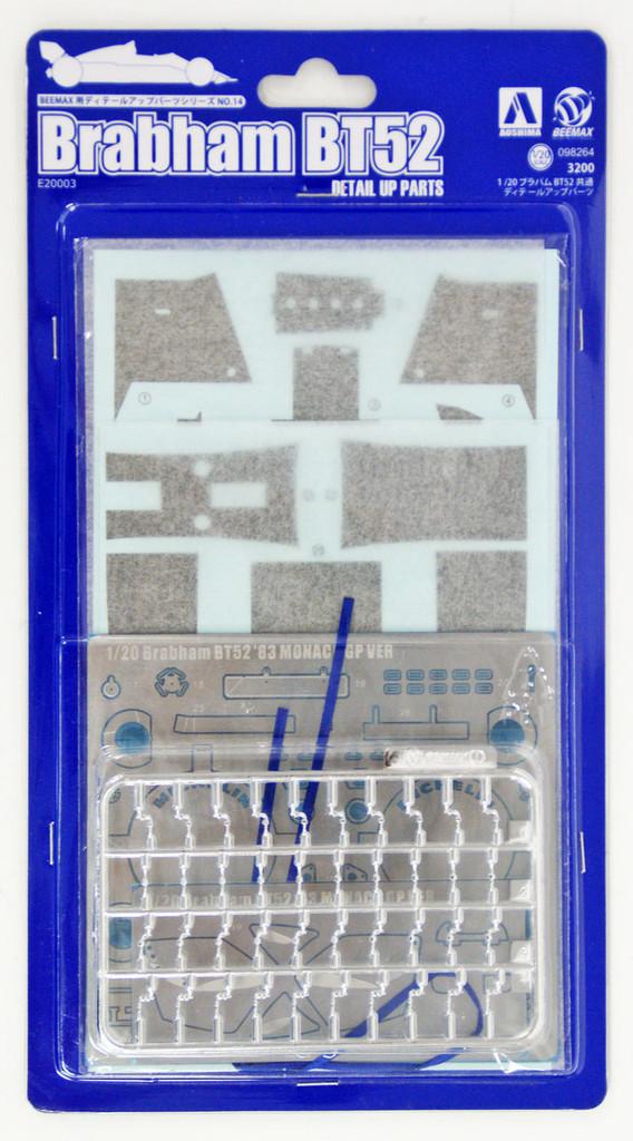 Aoshima 98264 Brabham BT52 Detail Up Parts 1/20 scale