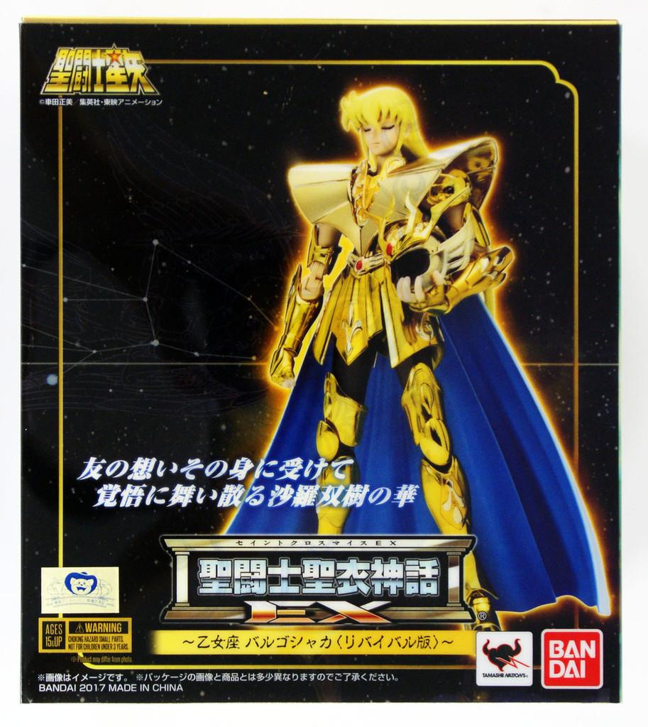 Bandai 197973 Saint Seiya Myth Cloth EX Virgo Shaka Revival Ver. Figure