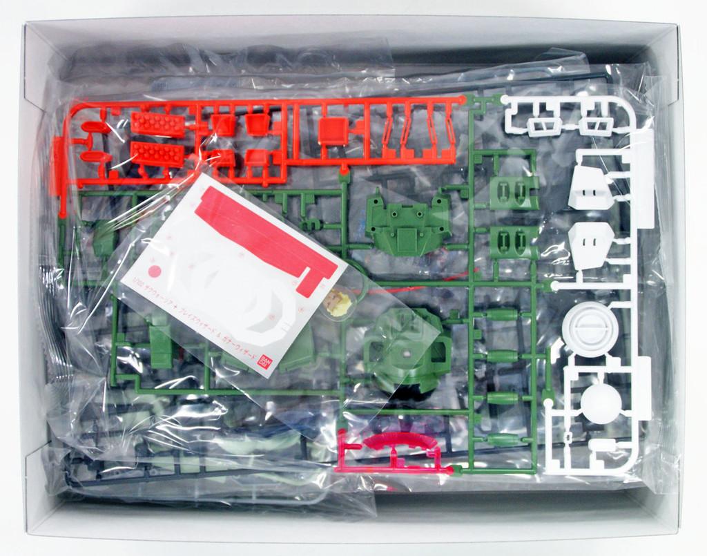 Bandai 340993 HG Gundam Seed Destiny Zaku Warrior + Blaze & Gunner Wizard 1/100 Scale Kit