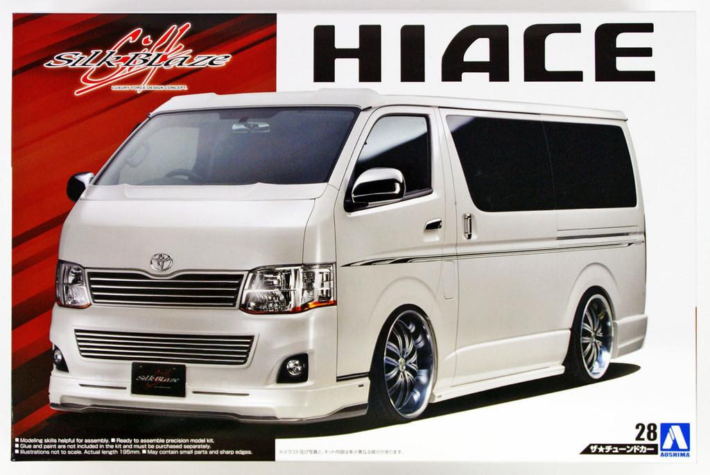Aoshima 53591 SILKBLAZE TRH200V HIACE Ver III '10 (TOYOTA) 1/24 scale kit