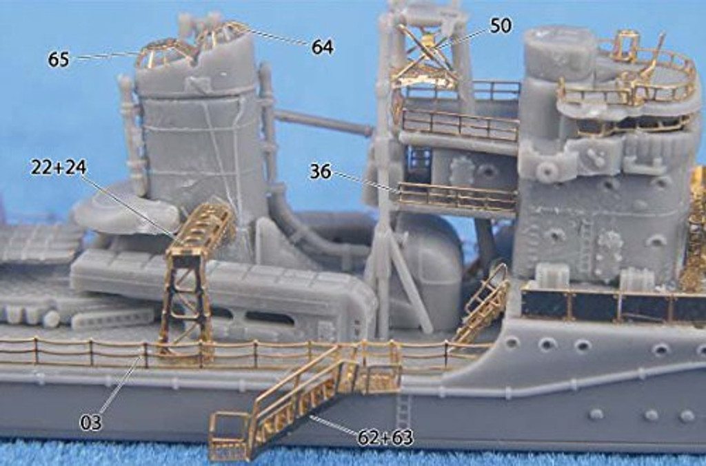 Fujimi TOKU SP76 IJN Destroyer Yukikaze 1945 DX 1/700 scale kit