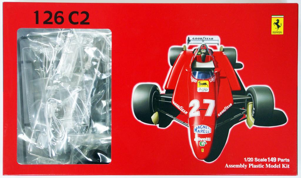 Fujimi GP SP1 090344 F1 Ferrari 126C2 San Marino 1/20 Scale Kit