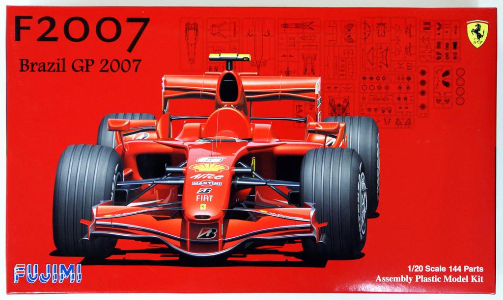 Fujimi GP SP11 090610 F1 Ferrari F2007 Brazil GP 1/20 Scale Kit