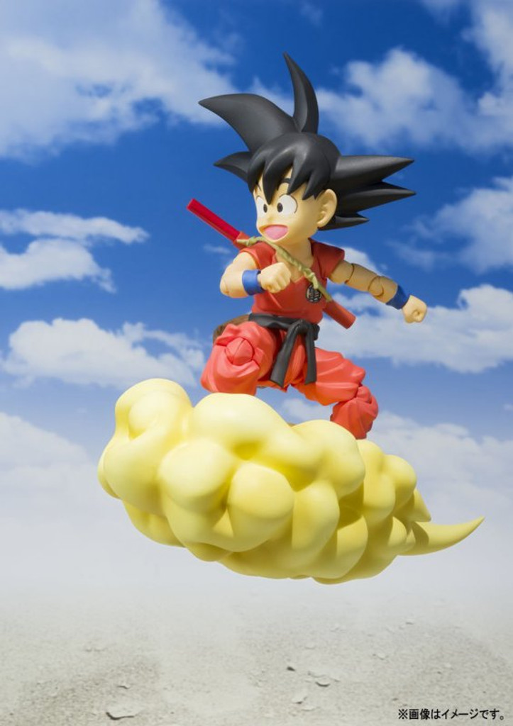 Bandai 177821 S.H. Figuarts Dragon Ball Kid Son Goku Action Figure