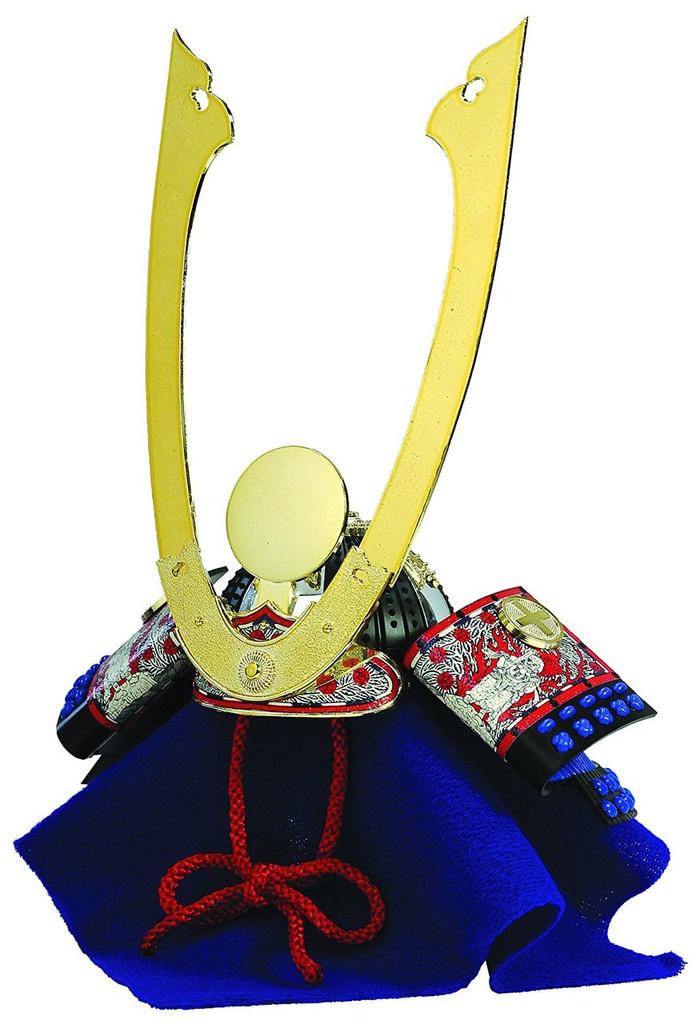 Doyusha K8 Nobunaga Oda Kabuto Samurai Armet Helmet 1/4 Scale Model Kit