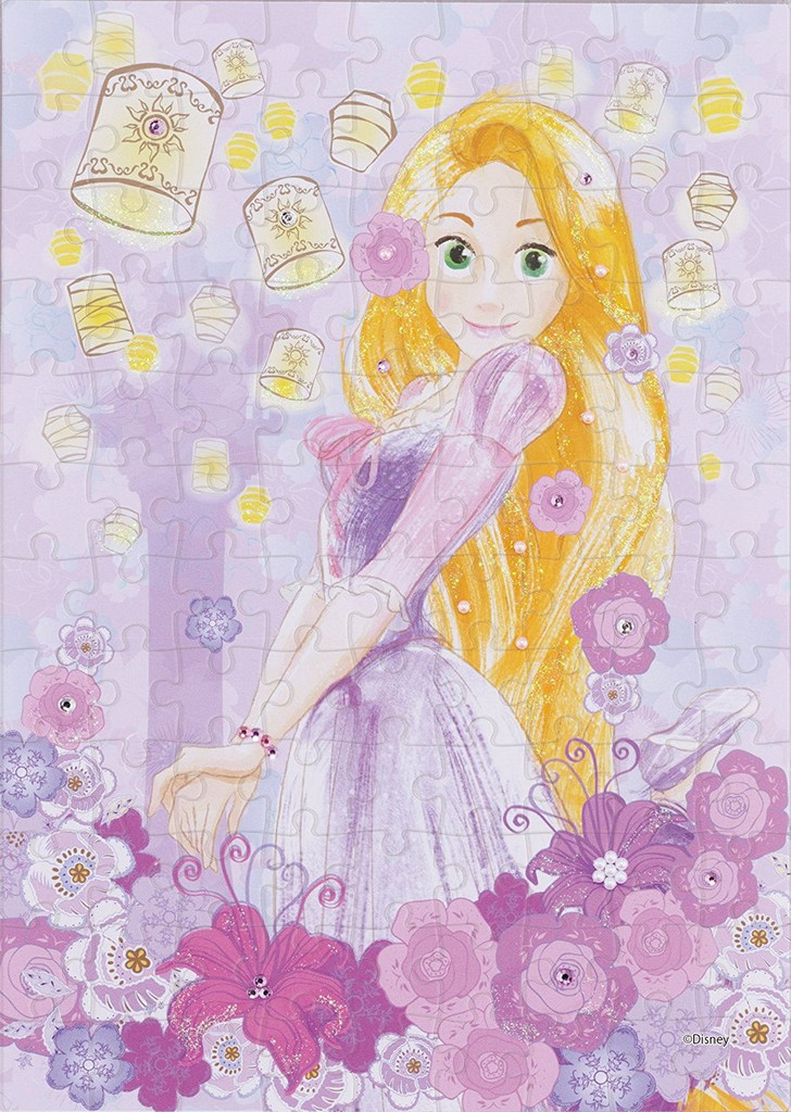 Epoch Jigsaw Puzzle Decoration 72-003 Disney Tangled Rapunzel (108 Pieces)