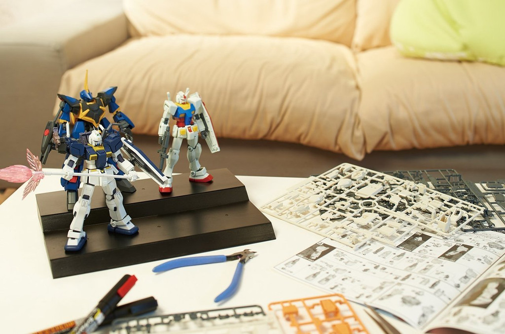 Bandai 210511 Collection Stage (Clear Blue)
