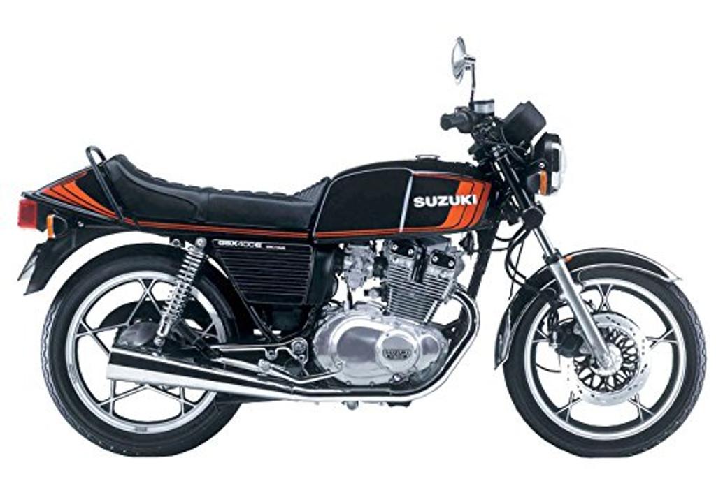Aoshima 54574 Bike 52 Suzuki GSX400E II 1/12 scale kit